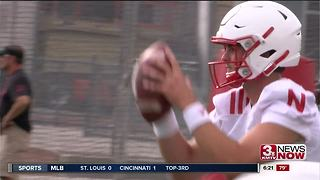 Huskers Offense Transitions to Tanner Lee - Video
