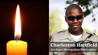 Remembering LVMPD Officer Charleston Hartfield - Video