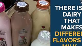 There is a dairy that makes weird flavors of milk in Arizona - ABC15 Digital - Video