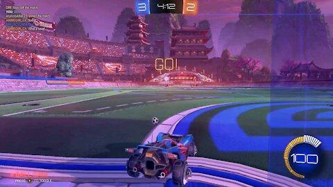 Almost perfect defence(rocket league)