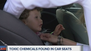 I-Team: Toxic chemicals still being used in new car seats - Video