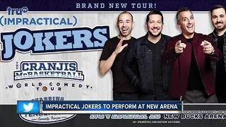 Impractical Jokers to perform in Milwaukee at new Bucks Arena - Video