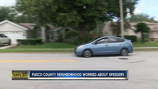 Pasco County neighbors wanting to slow down drivers using their street as cut through | Driving Tampa Bay Forward - Video