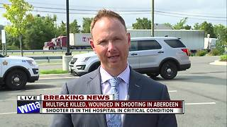 WMAR 2 News' Brian Kuebler reports from Aberdeen SHooting