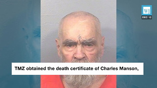 Autopsy Reveals Charles Manson's Official Cause of Death - Video
