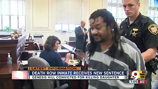 Death row inmate gets new sentence
