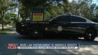More law enforcement in Seminole Heights - Video