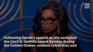 Limbaugh Crushes Oprah's 2020 Chances with Devastating Blow After Golden Globes Speech - Video