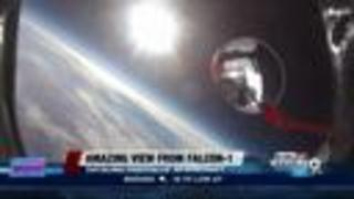 Check out the amazing view from Falcon-1 - Video