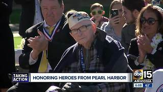 Honoring heroes from Pearl Harbor