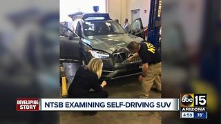 NTSB examining self-driving Uber involved in deadly crash - Video