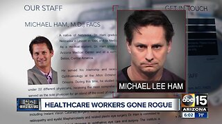 Healthcare workers gone rogue