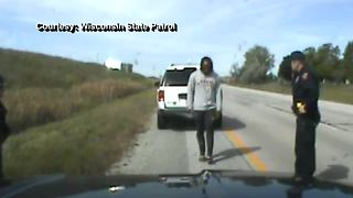 Dash cam video shows Aaron Jones' arrest - Video