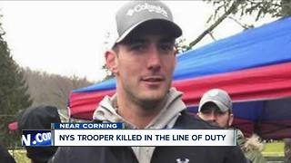 Trooper killed in the line of duty - Video
