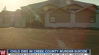 Child Dies In Creek County Murder-Suicide - Video