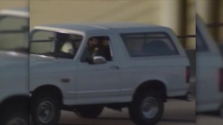 OJ Simpson's famous white Ford Bronco for sale - Video