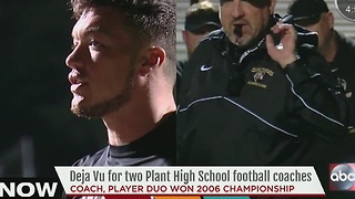 Deja Vu for two Plant High School football coaches - Video