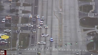 Heavy police activity closes portion of SB Dale Mabry Highway in Tampa - Video