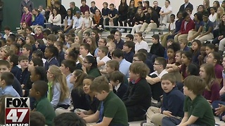 Anti-bullying speaker visits local schools - Video