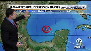 Harvey to dump heavy rains on Texas - Video