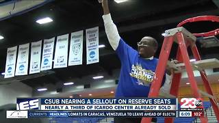 CSUB basketball ticket sales reaches record high - Video