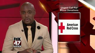 Red Cross issues urgent call for blood donors - Video