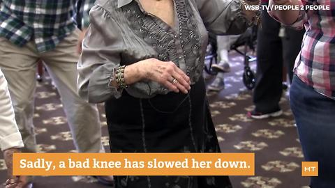 82-year-old dancer fulfills dream of getting back out on the dance floor | Hot Topics