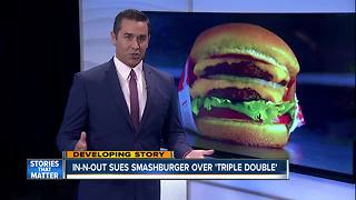 In-N-Out sues Smashburger over new 'Triple-Double' burger - Video