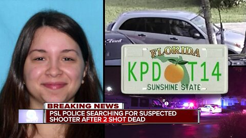 Woman sought after 2 people shot dead in Port St. Lucie