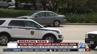 Aberdeen shooting victims transported to Bayview Medical Center - Video