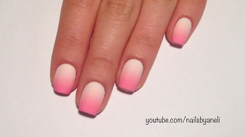 Nail art tutorial: How to make a perfect gradient