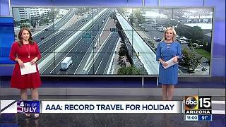 Americans traveling for Independence Day weekend - Video