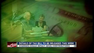 House Republicans' long-awaited tax reform bill could affect your retirement - Video