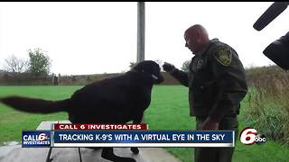 Few Indiana police departments use GPS tracking for K9 officers - Video