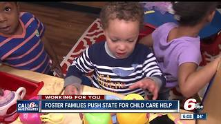 Indiana foster families call on Governor, DCS for help with child care in light of new report