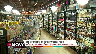 Florida Lawmakers pass bill to tear down 'liquor wall' - Video