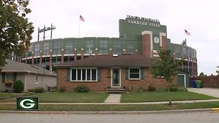 Home near Lambeau Field on market for $1 million - Video