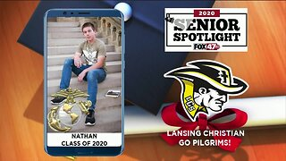 Lansing Christian High School Senior Spotlight - Nathan