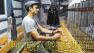 Darth Vader's Imperial March Performed In Europe's Largest Carillon Bell Tower