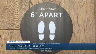 Co-working space makes major changes for returning workers