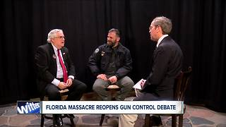Florida HS shooting  reopens debate on gun control - Video
