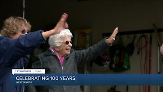 West Seneca woman celebrates her 100th birthday