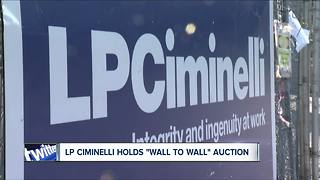 LPCiminelli closes general contracting company, auctions off equipment - Video