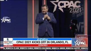 Ted Cruz's FIRE Speech At CPAC