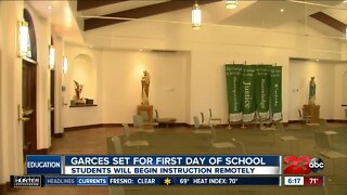 Garces Memorial High School returns to school