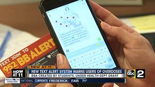 New text service, Bad Batch Alert, hopes to save addicts and reform them - Video