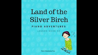 Piano Adventures Lesson Book 3A - Land of the Silver Birch