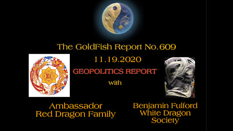 The GoldFish Report No. 609 Geopolitics w/ The Red & White Dragons