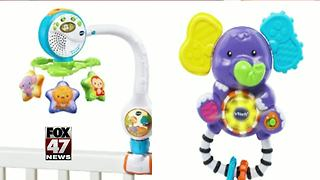 Crib accessory and rattle recall - Video