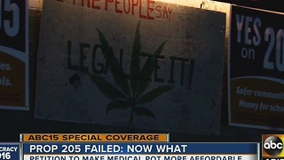 Proposition 205 failed, so what's next for marijuana advocates?